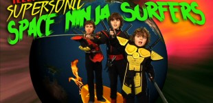 Telepathic Supersonic Space Ninja Surfers